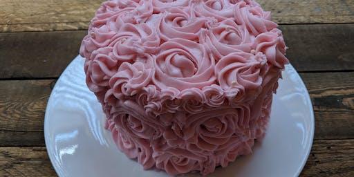 Rosette Cake Decorating Class