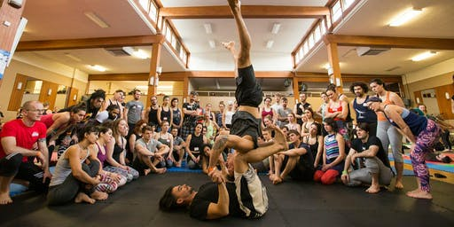 AcroYoga Workshop in Paris w/VanCityAcro