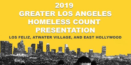 2019 Greater Los Angeles Homeless Count Presentation tickets