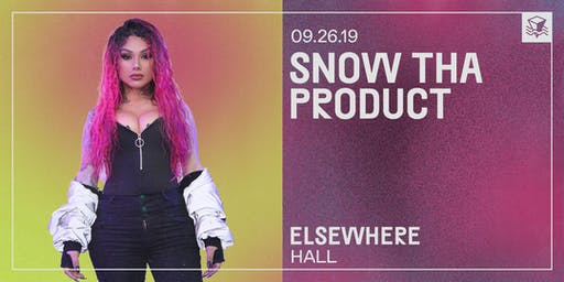Snow Tha Product @ Elsewhere (Hall)