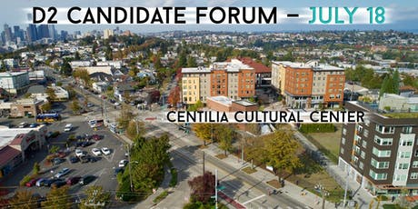 District 2 Candidates Forum tickets