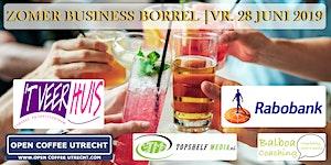 NETWERKEN - ZOMER BUSINESS BORREL | OPEN COFFEE...