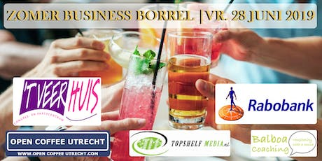 NETWERKEN - ZOMER BUSINESS BORREL | OPEN COFFEE UTRECHT | 28 JUNI 2019 tickets