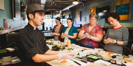 Intro to Making Sushi Class tickets