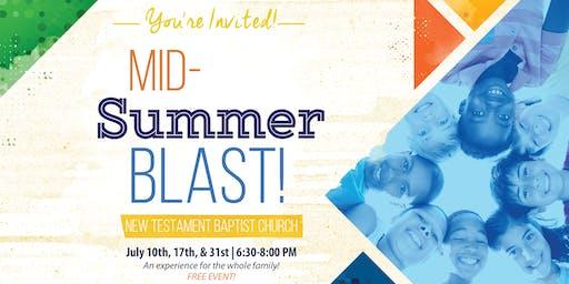 NTBC Mid-Summer Blast!
