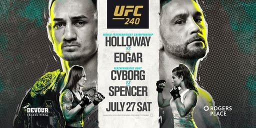 UFC 240: Holloway vs. Edgar at Red Bar and Lounge