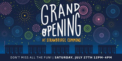 Model Grand Opening: Strawbridge Commons!