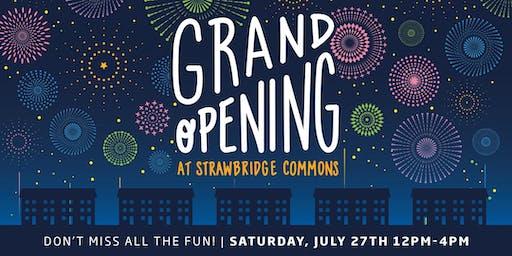 Model Grand Opening: Strawbridge Commons!