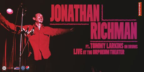 LIVE! On Stage Jonathan Richman Featuring Tommy Larkins tickets