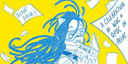 SASS + Zines: Zine Fair celebrating WOC / QPOC in Print