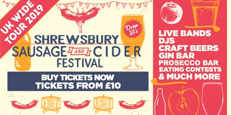 Sausage And Cider Fest - Shrewsbury tickets
