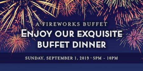 Chart House Labor Day Fireworks Buffet- Cincinnati, KY tickets