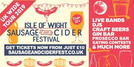 Sausage And Cider Fest - Isle of Wight tickets
