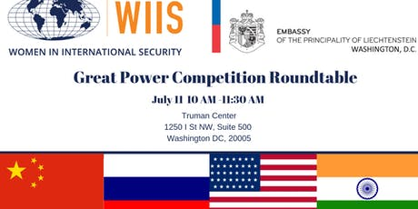 Gender and Great Power Competition Policy Roundtable tickets