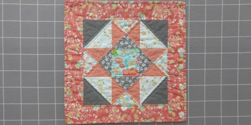 Mini Barn Stars Quilt Class with Courtenay