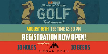 2019 Park Burger Charity Golf Tournament tickets