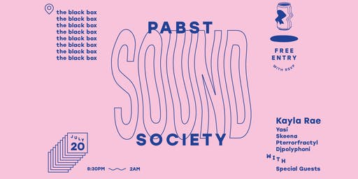 Pabst Sound Society presents Kayla Rae w/ special guests