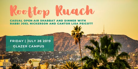 Rooftop Ruach - July 26, 2019 tickets