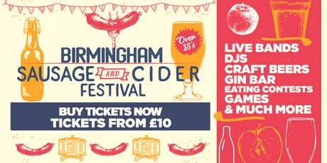 Sausage And Cider Fest - Birmingham tickets