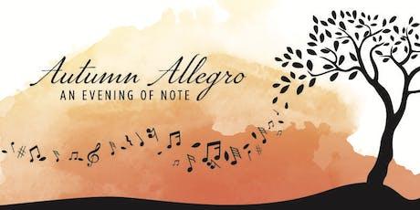 Autumn Allegro - An Evening of Note tickets
