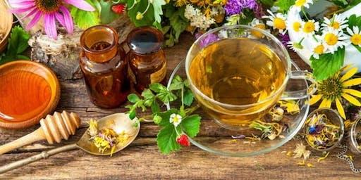 A Morning of Herbal Tea in America's Rose Garden