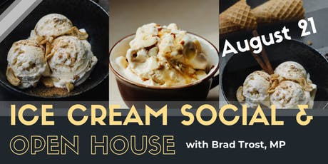 Ice Cream Social with Brad Trost, MP tickets