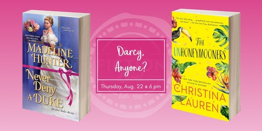 Dallas Book Club at La Madeleine: Darcy, Anyone?