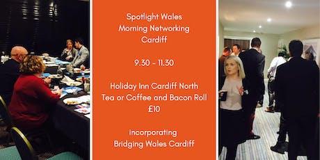 Spotlight Wales Morning Networking  tickets