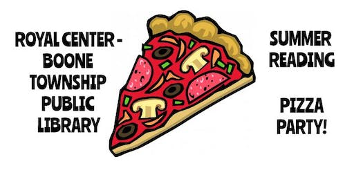 Summer Reading Pizza Party!