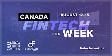 Canada FinTech Week tickets