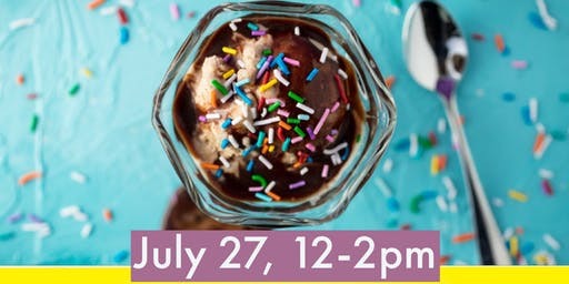 Sundaes on Saturday!