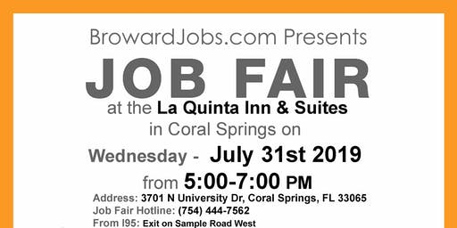 Job Fair on 7/31/2019 / BrowardJobs.com