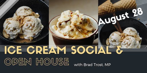 Ice Cream Social with Brad Trost, MP