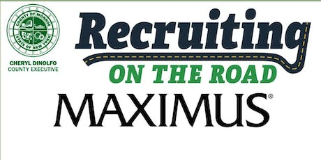 Maximus Hiring Event - Recruiting on the Road tickets