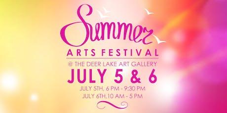 Summer Arts Festival tickets