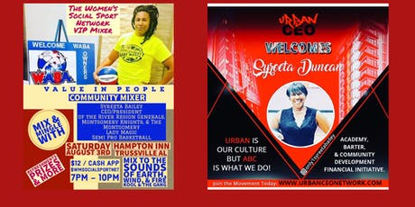 VIP (Value In People) Social Networking Mix & Mingle tickets