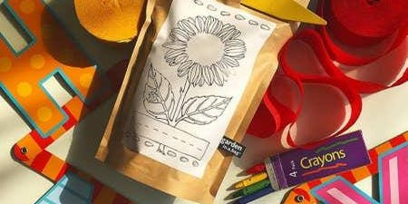 Sunflower or Strawberry Planting and Coloring