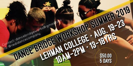 Dance Bridge Summer Workshop 2019 tickets