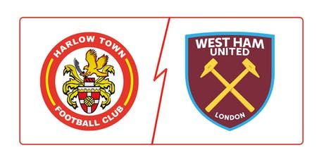 Harlow Town FC vs West Ham United XI tickets