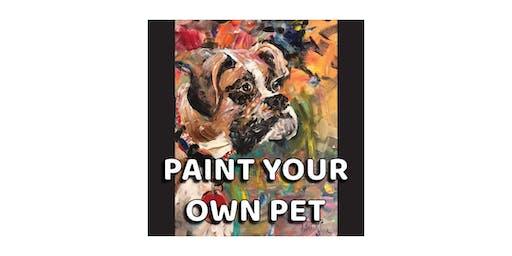 Paint your own Pet