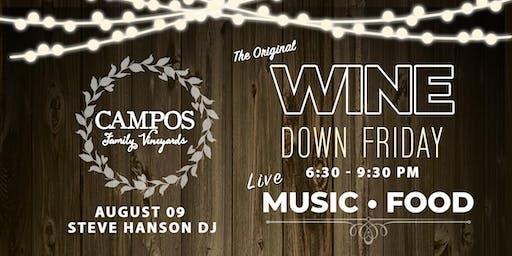 Wine Down Friday - DJ Steve Hanson