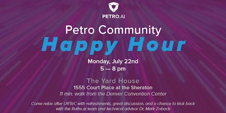 Petro Community Happy Hour  with Ruths.ai and Special Guest Dr. Zoback tickets