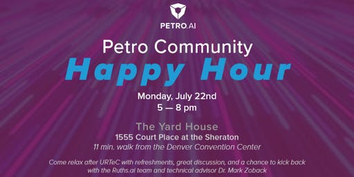 Petro Community Happy Hour  with Ruths.ai and Special Guest Dr. Zoback
