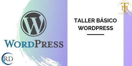 Taller Básico Wordpress boletos