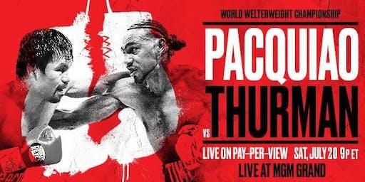 D&B Denver, CO - Premier Boxing Champions: Pacquiao vs Thurman