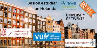 Estudia en Holanda - sesión informativa, también en línea