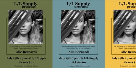 L/L Supply hosts Alle Bernardi tickets
