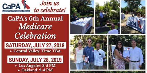 CaPA's 6th Annual Medicare Anniversary Garden Party | Fresno