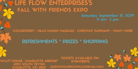 Fall with Friends Expo tickets