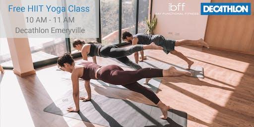 Week 4: Free HIIT Yoga Class w/ BFF Studio